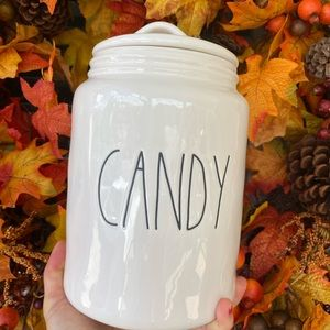 rae dunn candy canister size xl